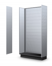 Power Wing Aluminum Slatwall Panels